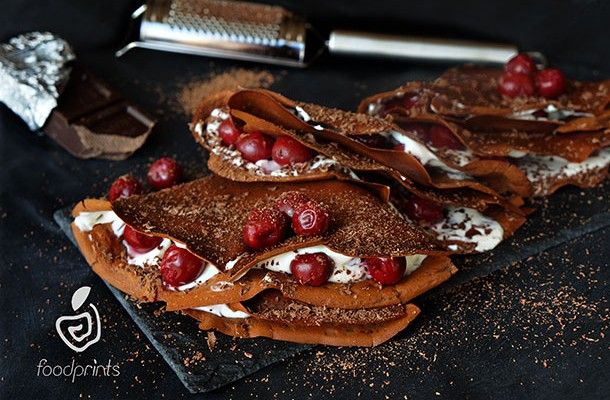 CREPES BLACK FOREST